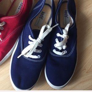 Navy Blue vintage Keds